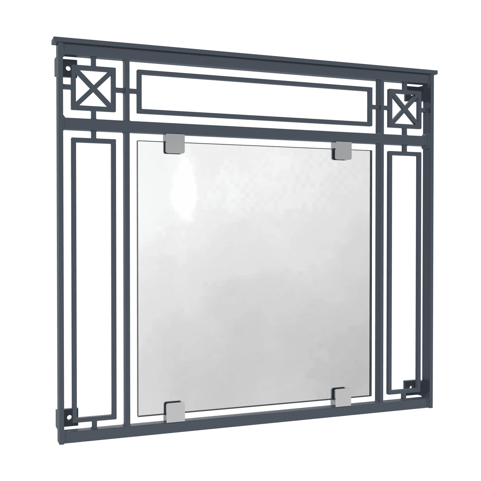 Französischer Balkon Fusion Glas